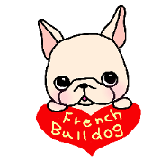 French Bulldog Stickers!