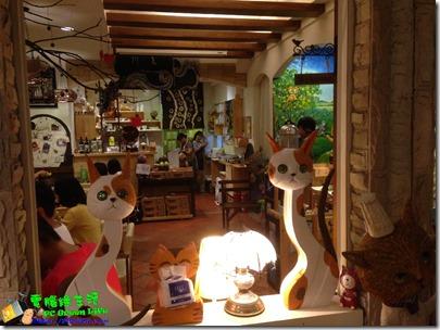 「貓廚」用餐環境及擺設